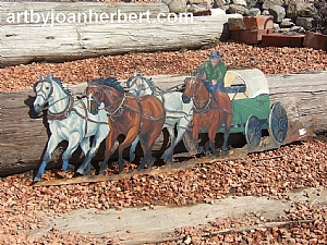 Chuckwagon wall art